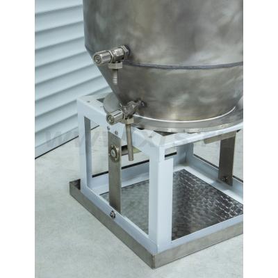 Установка для регенерации серебра из отработанных фиксирующих растворов