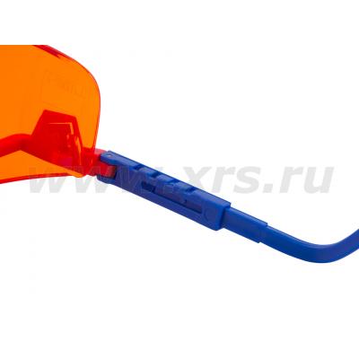 Защитные УФ-очки оранжевые