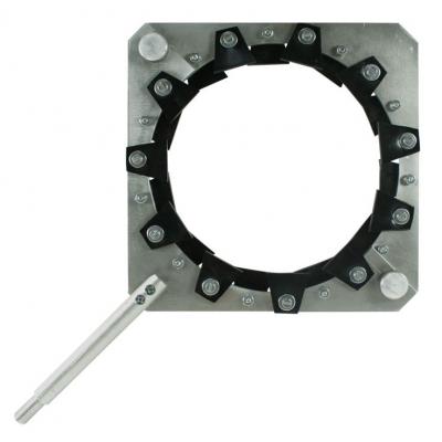 Кольцевой резиновый электрод