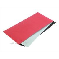 Бумага светонепроницаемая красно-черная 130 г/м²