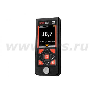 Толщиномер ультразвуковой портативный УДТ-08