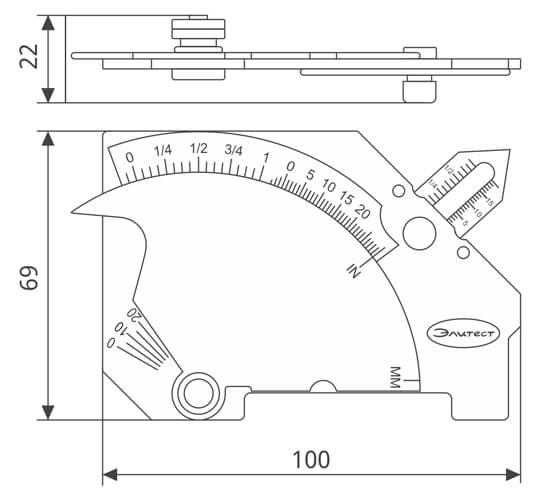 bridge cam mg8 measure