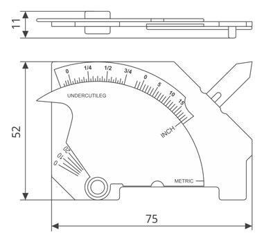 pocket bridgecam measure